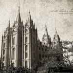 """Salt Lake Temple vintage"" by brycegandy"