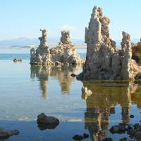 Mono Lake Castles (Color) Art Prints & Posters by Patricia McBride
