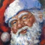 """""""Ho, Ho, Ho! Santa 2010"""" by offthewallart"""