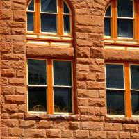 Building, Hot Springs, South Dakota Art Prints & Posters by Stacy Verduin