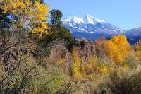 La Sal Mountain in the Fall (Autumn)