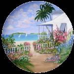 """Sea-Garden-Plate.gif"" by AlexanderArt"