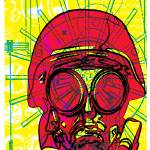 """Gas Mask"" by FreshPrintsPaducah"
