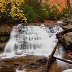"""Waterfall Downstream of Sliding Rock Falls"" by mindseyecreative"