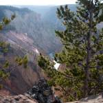 """Yellowstone grandcanyon trail over look"" by paul105"