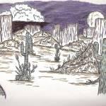 """Southwestern Desert"" by Juliebear"