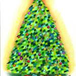 """Arbre de Noel: The Christmas Tree"" by sharonblanchard"
