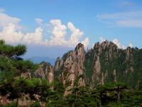 Scenery of the yellow mountain