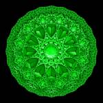 """Green Mandala"" by myikpix"