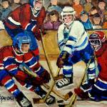"""HOCKEY STICKS IN ACTION"" by carolespandau"