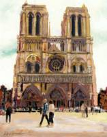 Notre Dame Cathedral by RD Riccoboni