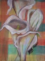 Calla Lilies in Watercolor