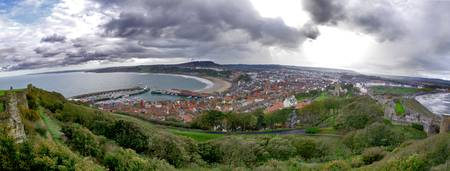 Scarborough Bays (from the Castle)