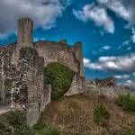 """Conisborough Castle HDR"" by rozter"