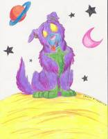 Roxy in space