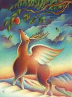 Santa Fe Winged Deer