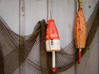 Fishing Buoys and Net