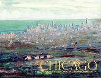Above Chicago Abstract Impressionism by Riccoboni