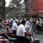"""Ho Chi Minh City Street Traffic"" by tomhitchman"