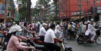 Ho Chi Minh City Street Traffic