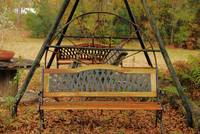 Country Bench and Swing