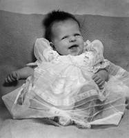 Antique Baby Photo B&W