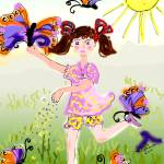 """Feeding The Butterflies by Ginette"" by GinetteCallaway"