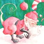 """Santa Rat Is Comin"