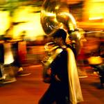 """mardi gras horn blower"" by JThomasDukePhotography"