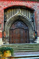 Munich church door
