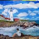"""Portland Head Lighthouse"" by lmeaux2"