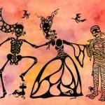 """Halloween Romance"" by candyfroggie"
