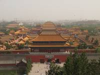 View of Forbidden City from Guan Maio Ding