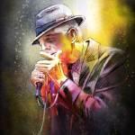 """Leonard Cohen 02"" by mikifonvielle"