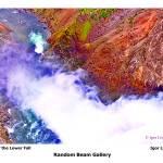 """Basin of the Lower Fall"" by randombeam"