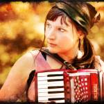 """Gypsy Accordionist"" by ScovoPhoto"
