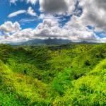 """View towards Mt.Wai"