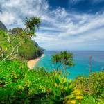 """Na Pali Coast from Kalalau Trail"" by DieterSchaefer"
