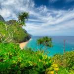 """Na Pali Coast from Kalalau Trail"" by DieterSchaefer"