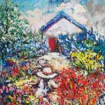 """COTTAGE GARDENS"" by claudemarshall"