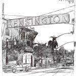"""The Kensington Sign"" by BeaconArtWorksCorporation"