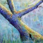 """The Blue Tree"" by AlexanderArt"