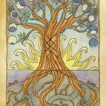 """Yggdrasil the World Tree"" by witchofforestgrove"