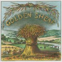 Golden Sheaf cigar vintage poster