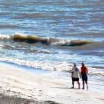 """""""A stroll on the beach"""" by Jaimie"""