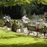 """Savoring Life, Luxembourg Garden, Paris"" by davidhowell"