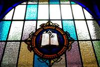 Rappahannock Baptist Pulpit Window