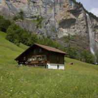 Heidi Haven, Lauterbrunnen, Switzerland Art Prints & Posters by David Howell