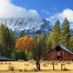 """""""Autumn Barn At Thompson Peak"""" by jameseddy"""