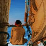 """""""Sailor looking to shore"""" by CarrieWaters"""